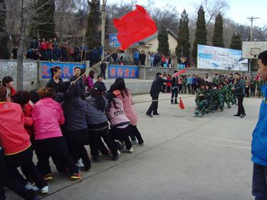 我校举办2013年冬季越野赛